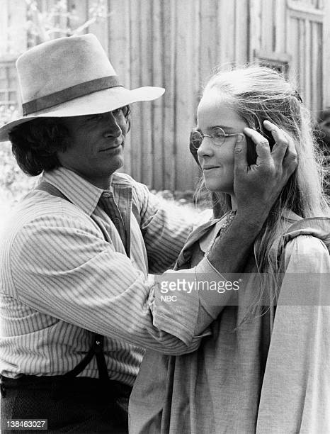 PRAIRIE Four Eyes Episode 2 Aired Pictured Michael Landon as Charles Ingalls Melissa Sue Anderson as Mary Ingalls