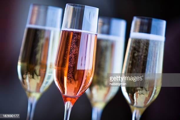 4 flûtes de Champagne
