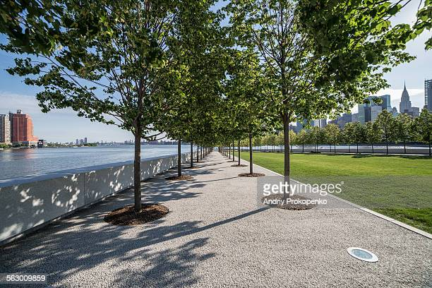Four Freedoms Park on Roosevelt island