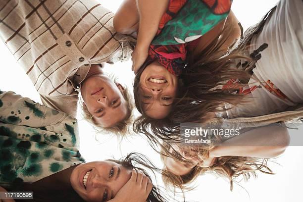 Four Friends smiling