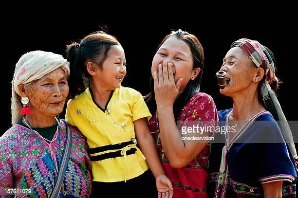 Four Generations of Po Karen Women