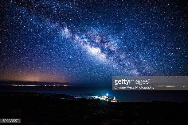 Four Islands and Milky Way