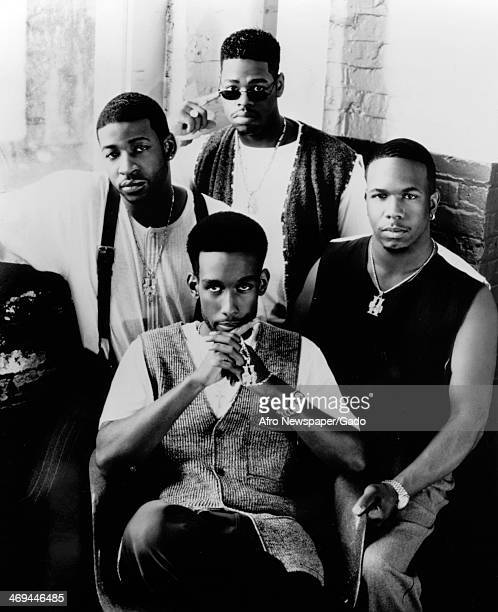 A four man singing group Boyz II Men specialists in RB soul and acapella music founded in 1988 November 25 1992