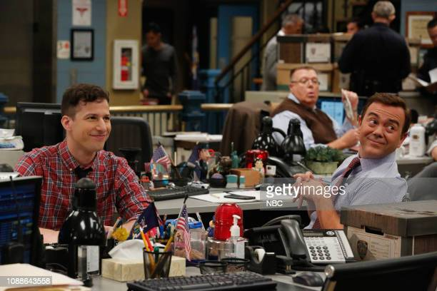 NINE Four Movements Episode 604 Pictured Andy Samberg as Jake Peralta Joe Lo Truglio as Charles Boyle