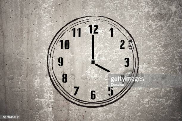 Four o'clock - Stock Image