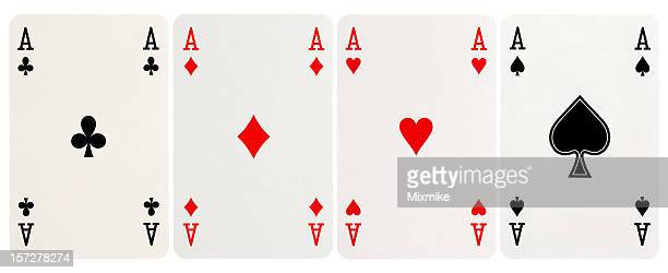 four of a kind - Aces