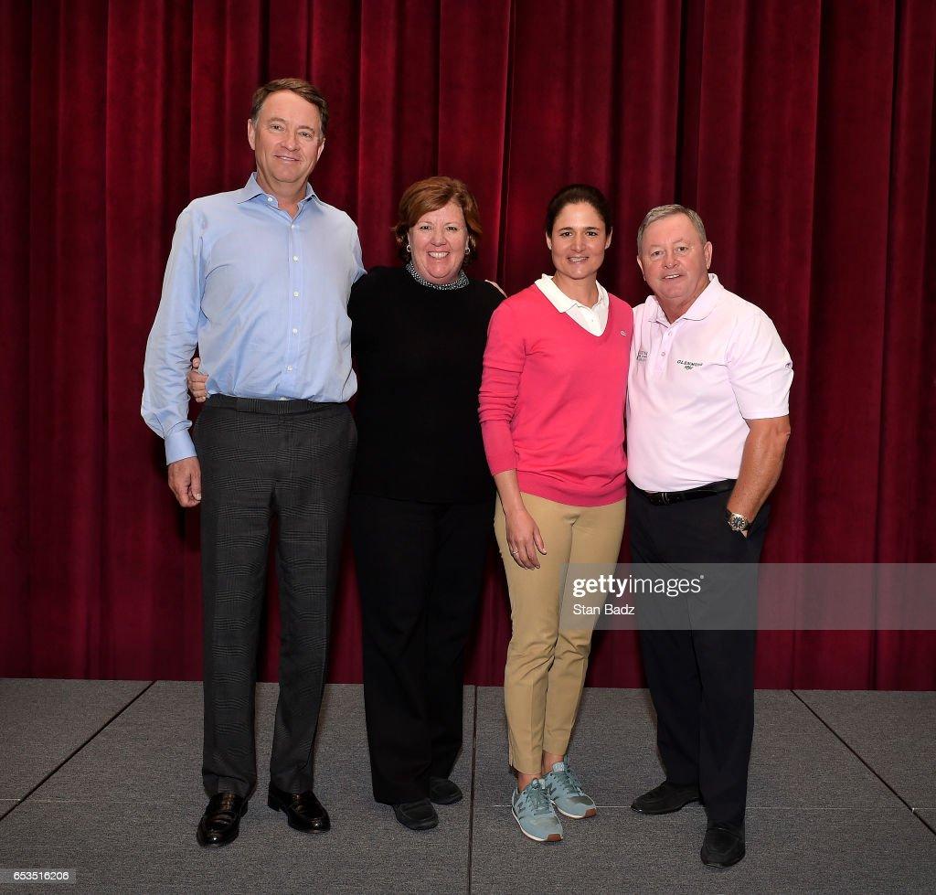 photos et images de 2017 inductees visit world golf hall of fame