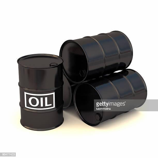 Four Oil Drums