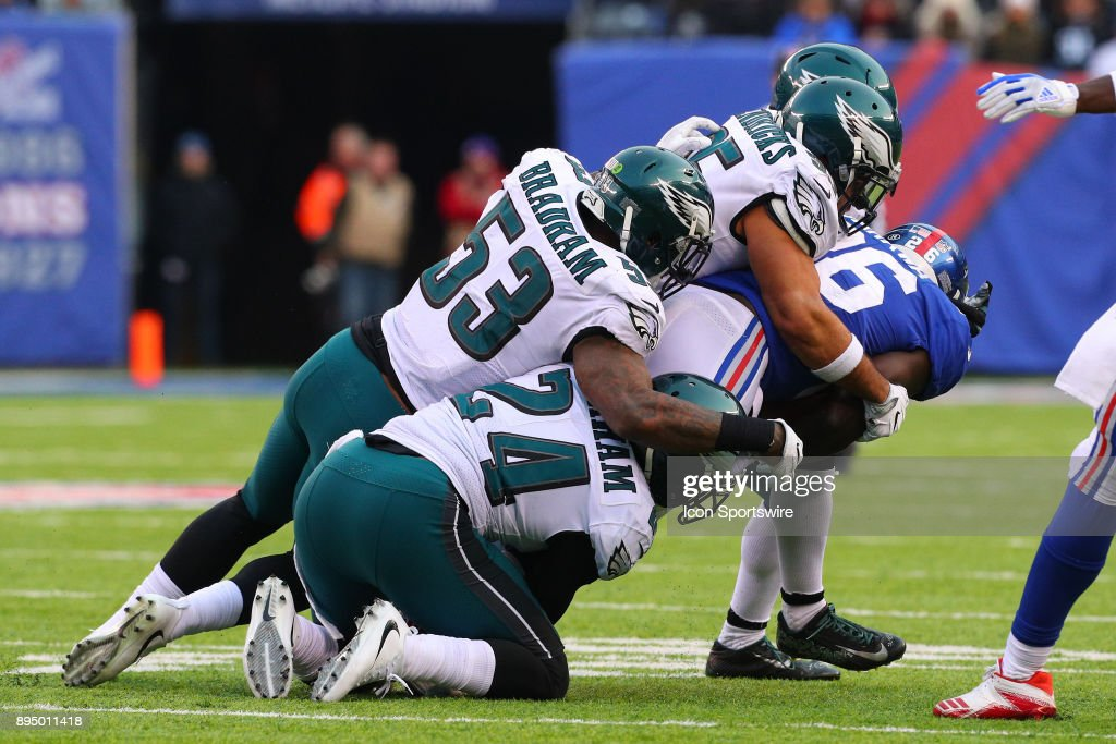NFL: DEC 17 Eagles at Giants : News Photo