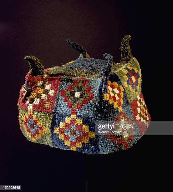 Four pointed hat Peru Wari 400 800 AD Coastal Peru