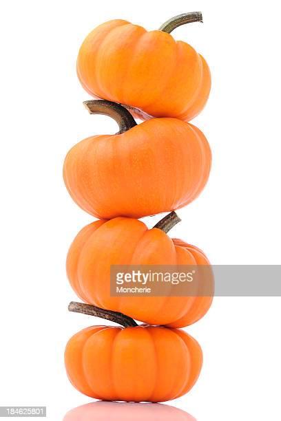 Cuatro pumpkins