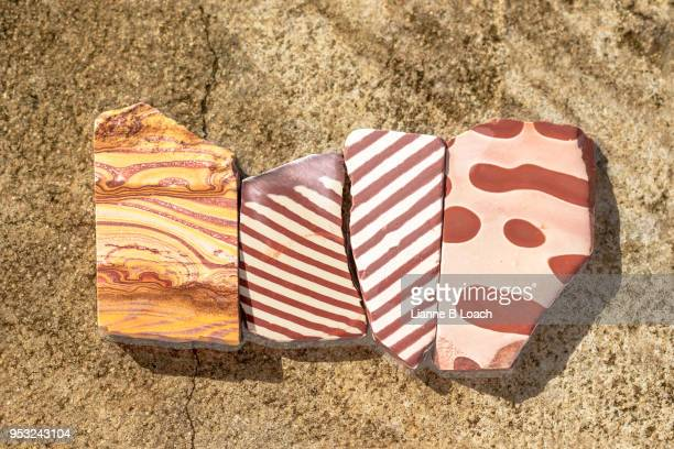 four rocks - lianne loach stock pictures, royalty-free photos & images