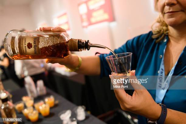 Four Roses Bourbon being served at Four Roses Bourbon being poured at Four Roses Bourbon's Broadway Tastes presented by iHeartRadio Broadway hosted...