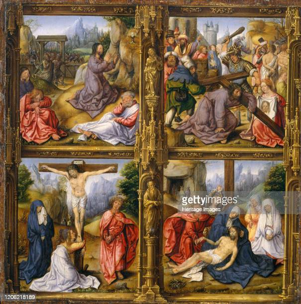 Four Scenes from the Passion Artist Follower of Bernard van Orley