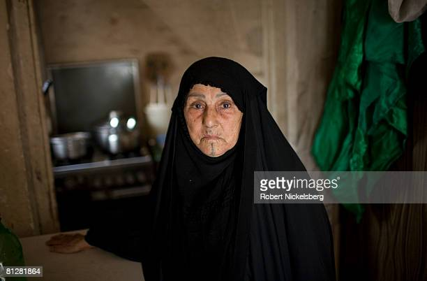 Four Shia families fled their homes due to heavy fighting in the southern districts of Sadr City to stay with neighbors in eastern Baghdad May 6 2008...