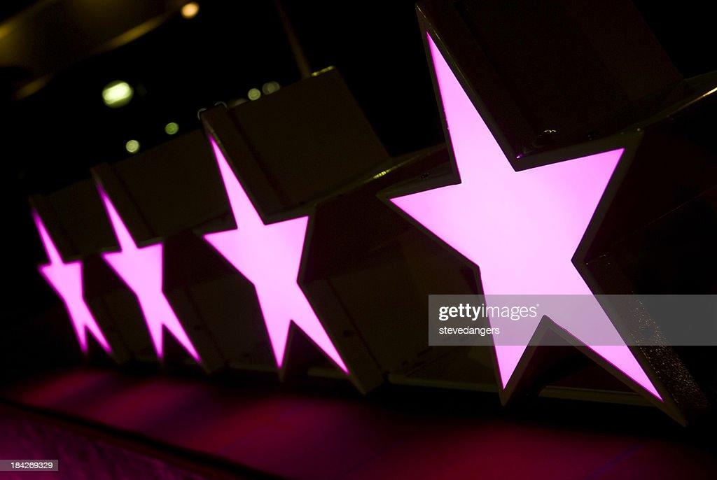 Quattro stelle, hotel : Foto stock