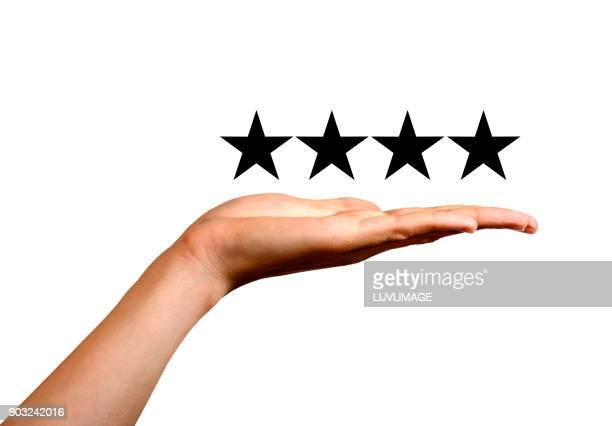 four stars. - rating stock pictures, royalty-free photos & images
