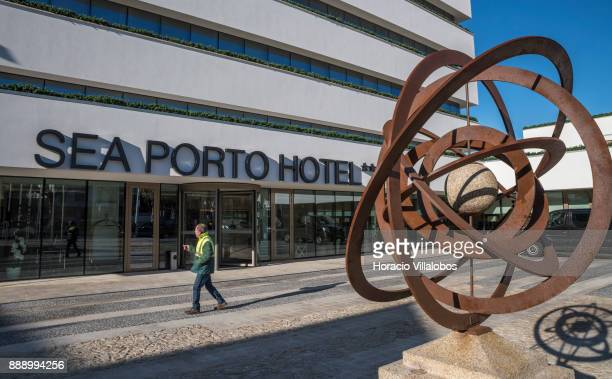 Four Stars Sea Porto Hotel during the Gastronomic FAM Tour on December 02 2017 in Matosinhos Portugal Gastronomic tours are hosted by 'Simply b' tour...