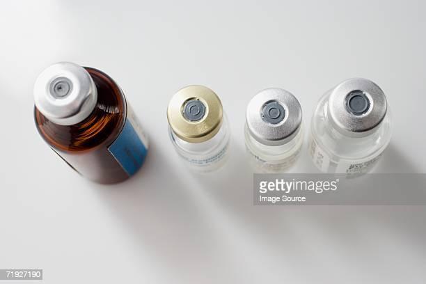 Four syringe phials