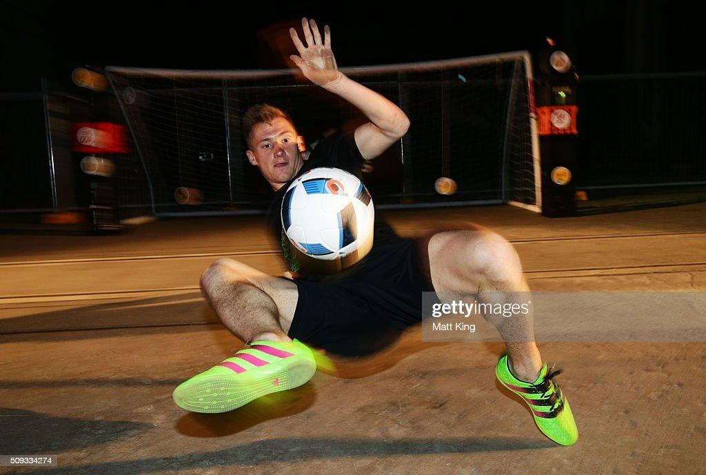 adidas ACE Football Launch : News Photo