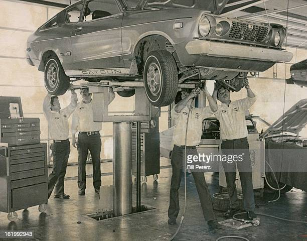 JUN 7 1977 JUN 11 1977 Four Times The Expertise Central Datsun 780 S Havana has instituted a new service program incorporating teams of four...