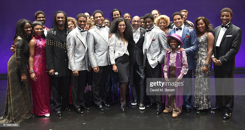 "Four Tops Member Duke Fakir Visits The West End Production Of ""Motown The Musical"" : News Photo"