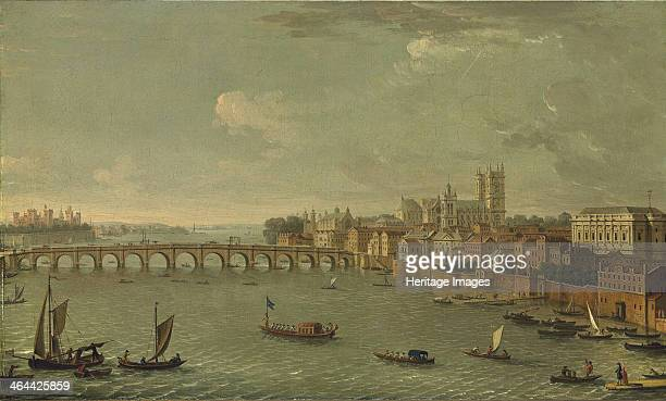 The Thames looking towards Westminster From a private collection