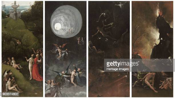 Four Visions of the Hereafter Found in the Collection of Palazzo Grimani Venice
