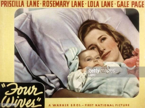 Four Wives lobbycard Priscilla Lane 1939