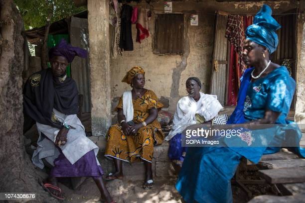Four women, all victims of witch hunts in Sintet in 2009, seen speaking about their experiences. Former Gambian dictator Yahya Jammeh ordered witch...
