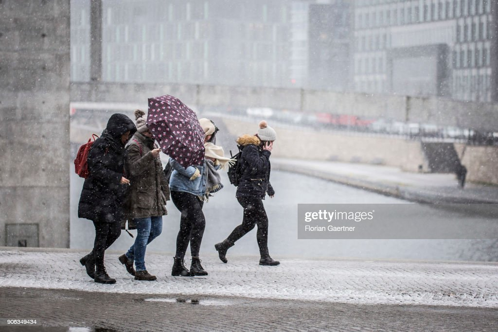 Storm Front Friederike : News Photo