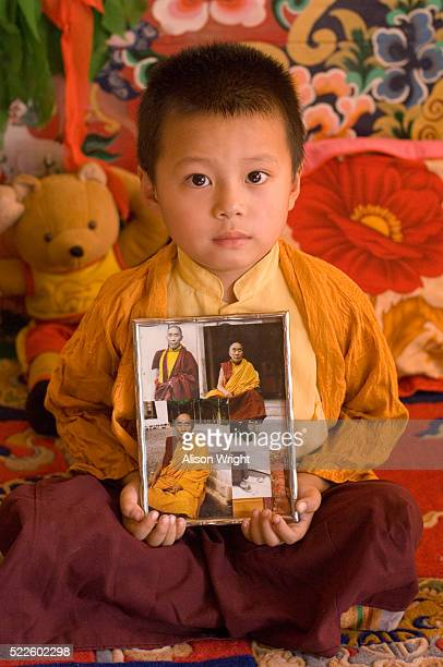Four Year Old Reincarnate Lama at the Karma Drubgyud Choeling Monastery