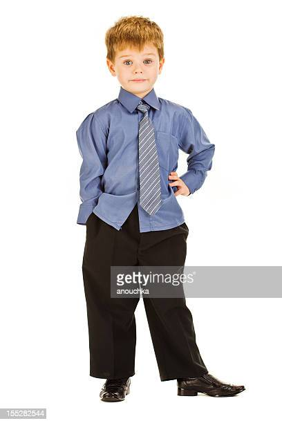 four years old cute boy on white background - 4 5 years stock pictures, royalty-free photos & images