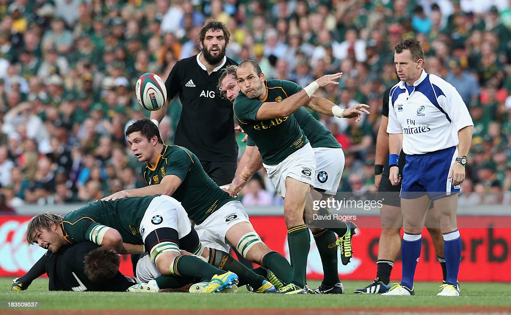South Africa v New Zealand: The Rugby Championship