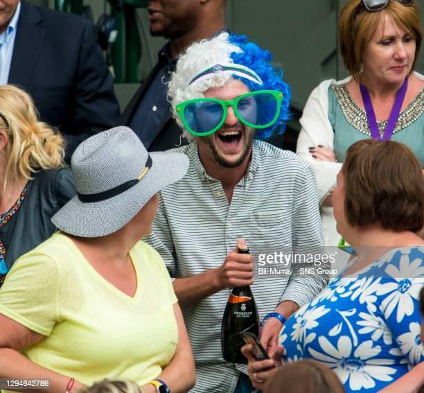 Nick KYRGIOS v Andy MURRAY .WIMBLEDON - LONDON.Andy Murray fans