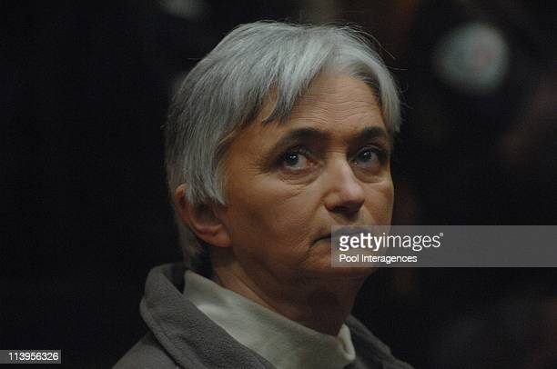 Fourniret trial in Charleville Mezieres, France on March 27, 2008-Opening of trial of Michel and Monique Olivier Fourniret at the assizes court of...