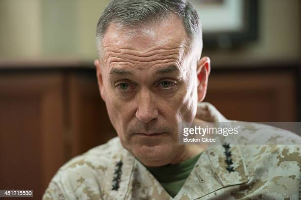 FourStar Marine Gen Joseph F Dunford of Quincy Mass is the commander of the International Security Assistance Force and US Forces in Afghanistan...