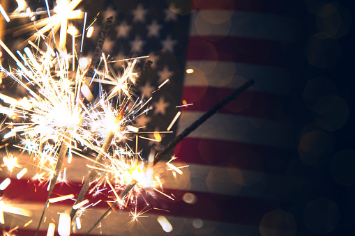 Fourth of July Background 693139112