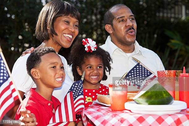 Fourth of July family picnic