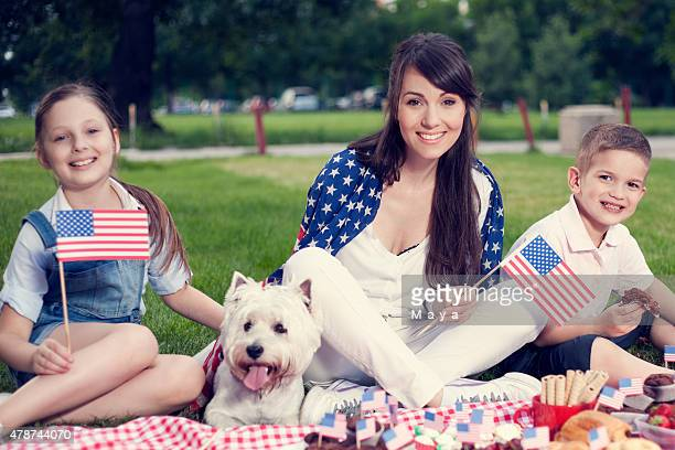 Fourth of July family picnic.