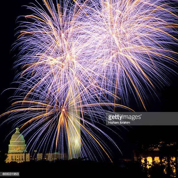 Fourth of July Fireworks Celebration,Washington DC
