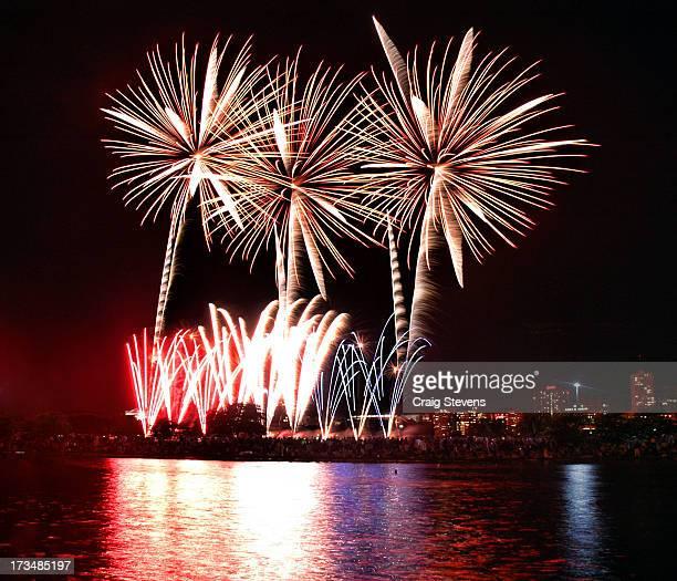 Fourth of July Fireworks Spectacular Charles River Esplanade Boston Pops Boston, Massachusetts
