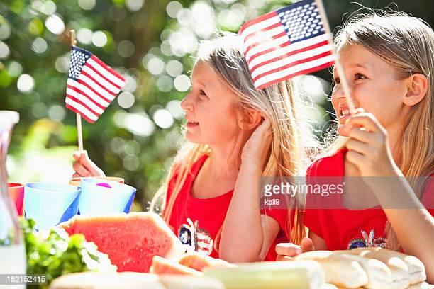 Du 4 juillet, Jour du Mémorial, ou pique-nique