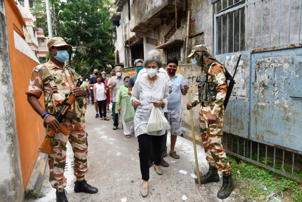 IND: Fourth Phase Of West Bengal Assembly Election