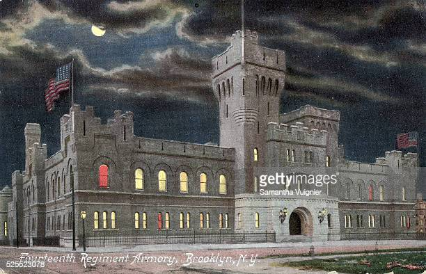 Fourth Regiment Armory of the National Guard located in Park Slope Brooklyn