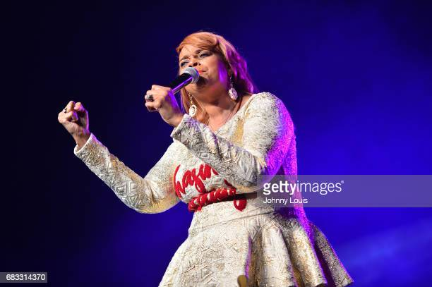 Fourtime Grammy Award winning American gospel singer Karen Clark Sheard performs at the 2nd Annual South Dade MusicFest and Mothers Day Musicfest SBC...