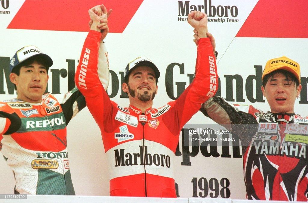 MOTO-500-BIAGGI/WINNERS : News Photo