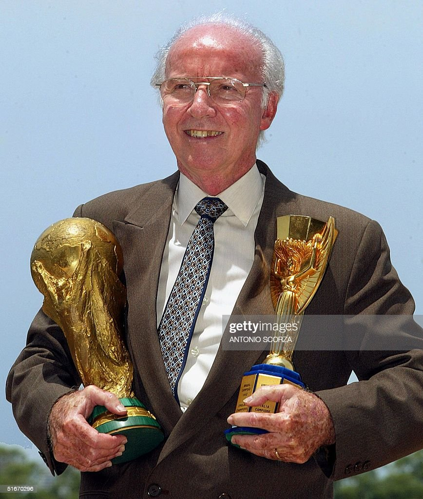 Four-time World Cup winner Mario Zagallo is coming : News Photo