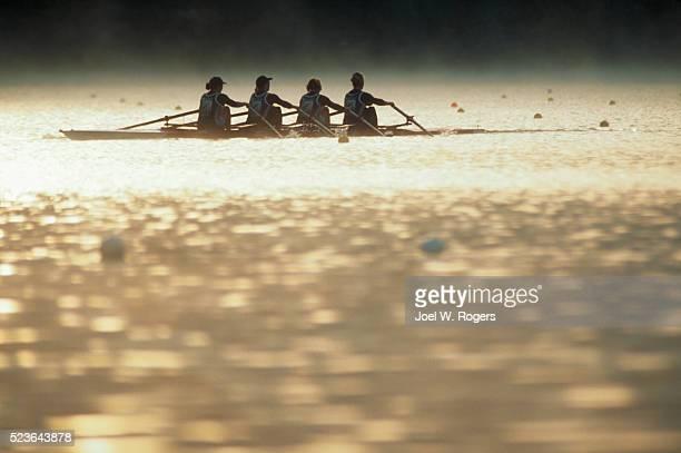 Four-Woman Shell on Lake Nasijarvi