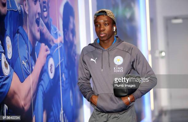 Fousseni Diabate ahead of the Premier League match between Leicester City and Swansea City at King Power Stadium on February 03rd 2018 in Leicester...